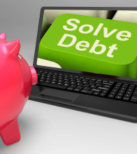 Solve Debt Key Means Solutions To Money Owing